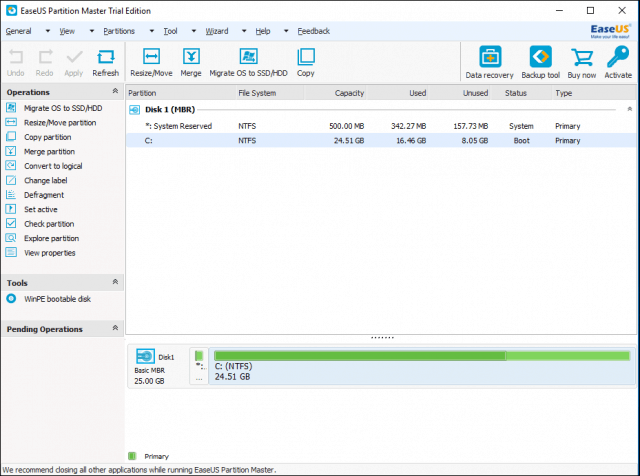 partition manager ui 1