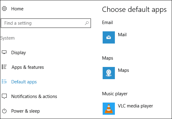 2 default apps