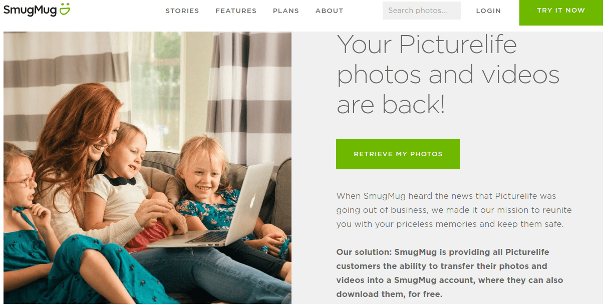 SmugMug saves Picturelife