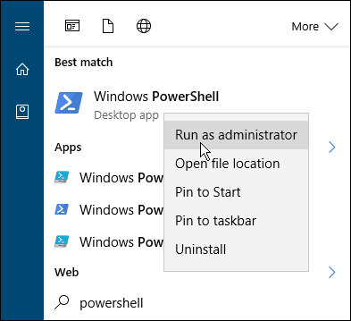 search powershell