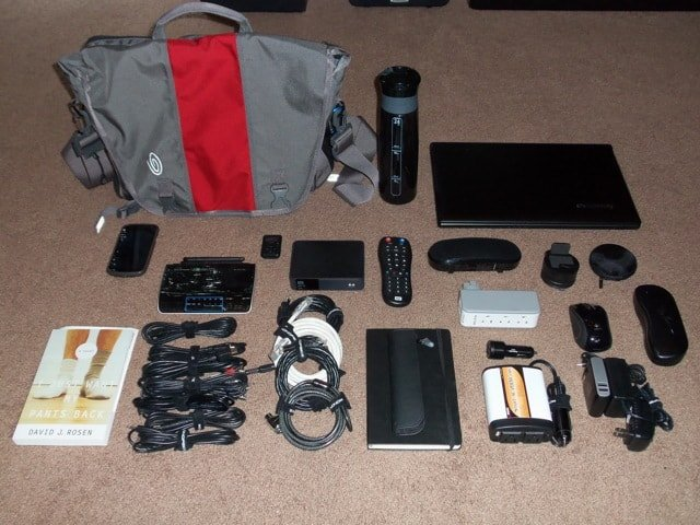 what's in my laptop bag