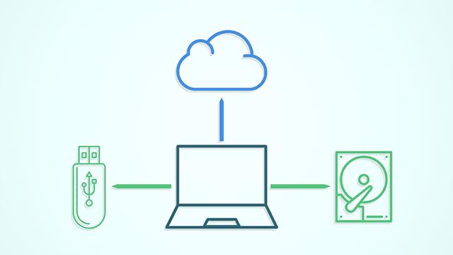 smart backup local hard disk usb drive thumbdrive cloud sync crashplan failsafe