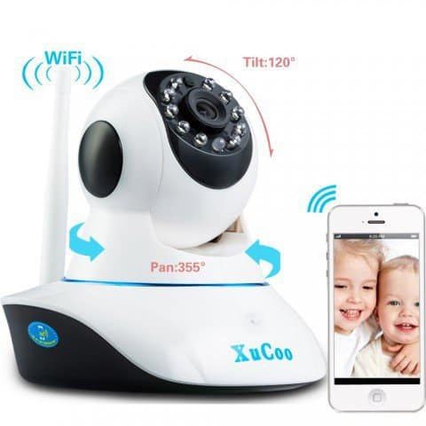 web enabled baby video monitor