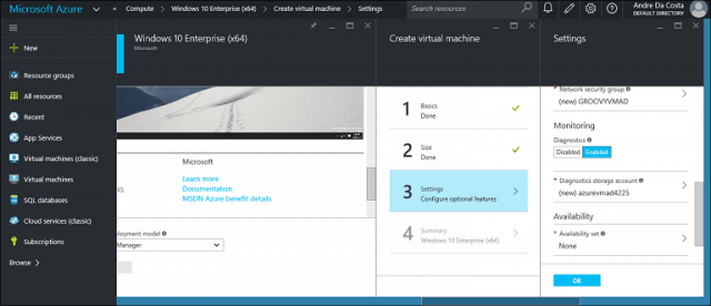 Get Started with Microsoft Azure – Create Your First Virtual