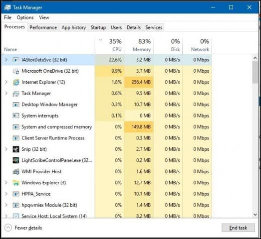 Stop What's Revving Your CPU Fan Constantly in Windows 10