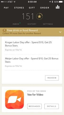 Starbucks Pick of the Week Free App Download