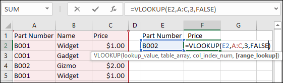 Microsoft Excel: VLOOKUP cambiará tu vida