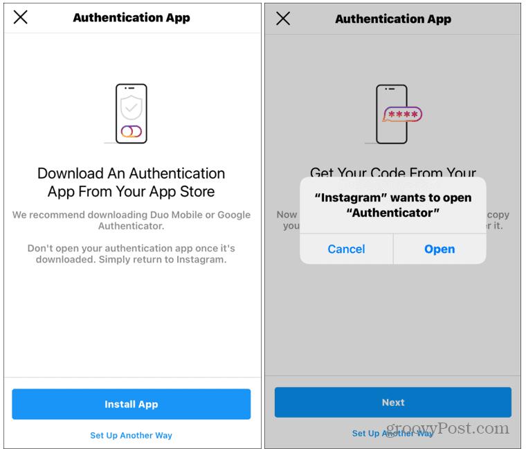 auth app ios