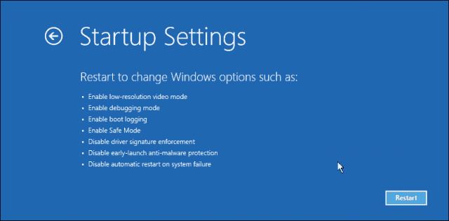automatic-repair-5 safe mode windows 10