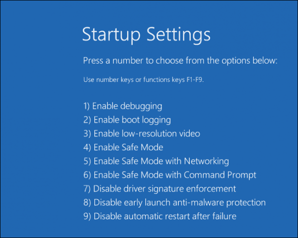 automatic-repair-6 safe mode windows 10