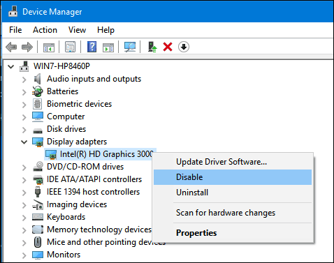 dev-manager safe mode windows 10