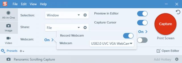 webcam-recording