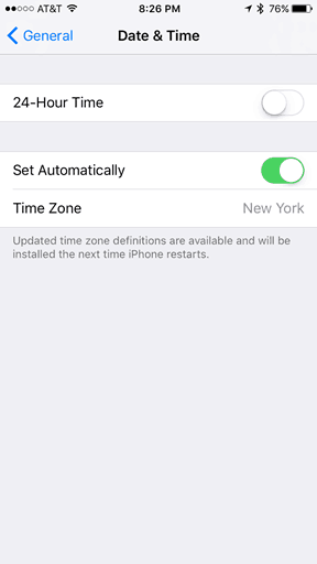does iphone change time for daylight savings daylight saving time ending enable or prevent your iphone 4908