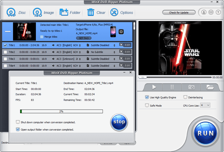 WinX DVD Ripper Platinum Review: Copy, Backup, and Convert