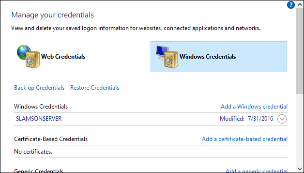Windows 10 Fix: SERVERNAME is not accessible… A specified