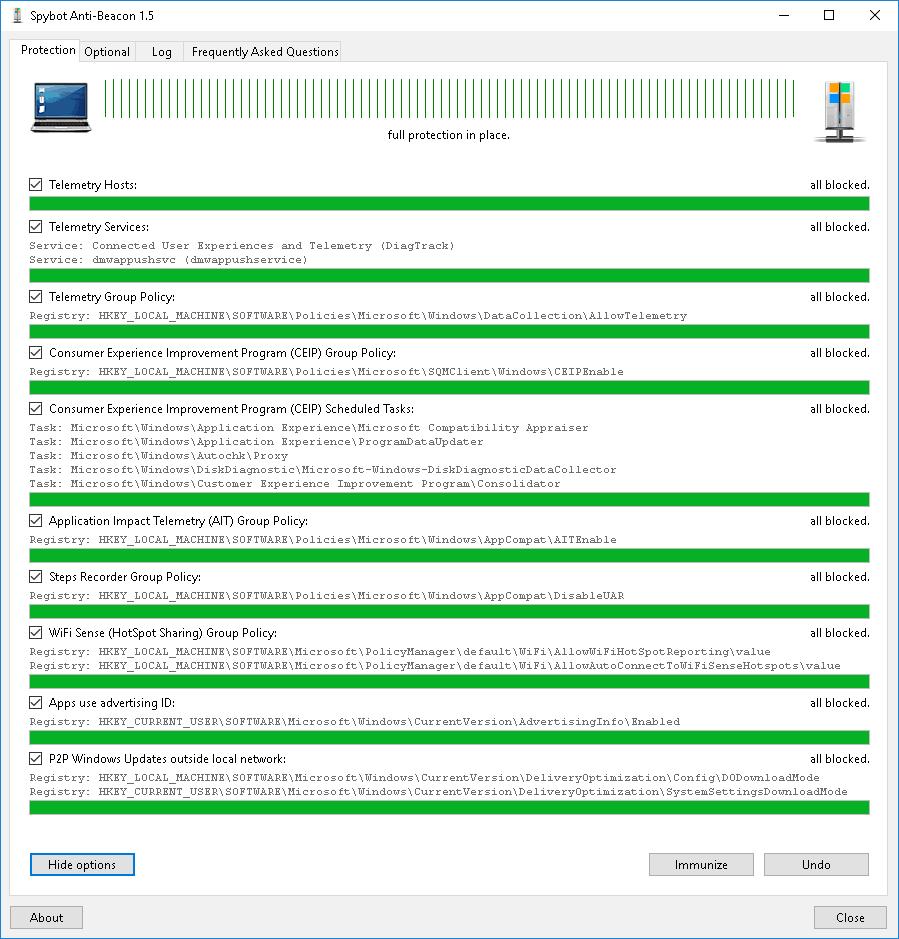 Block windows 10 telemetry | W10Privacy is a smarter Windows 10