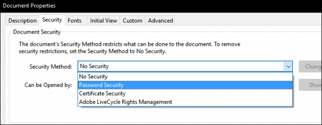 How to Password Protect PDF Documents