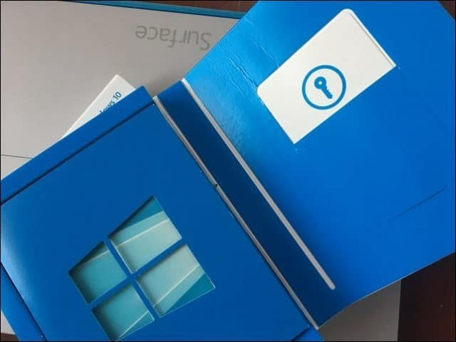Retail Box Full Package Windows 10 Product key