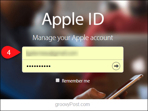 How to Reset Your Apple iCloud Password - 4