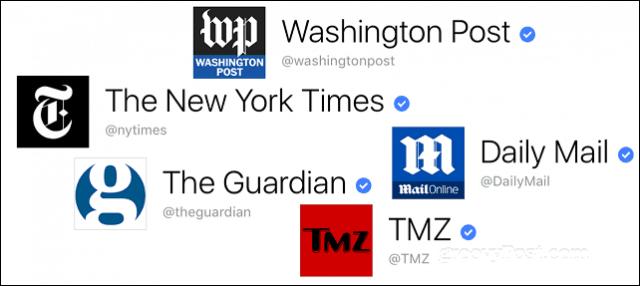 verified sources