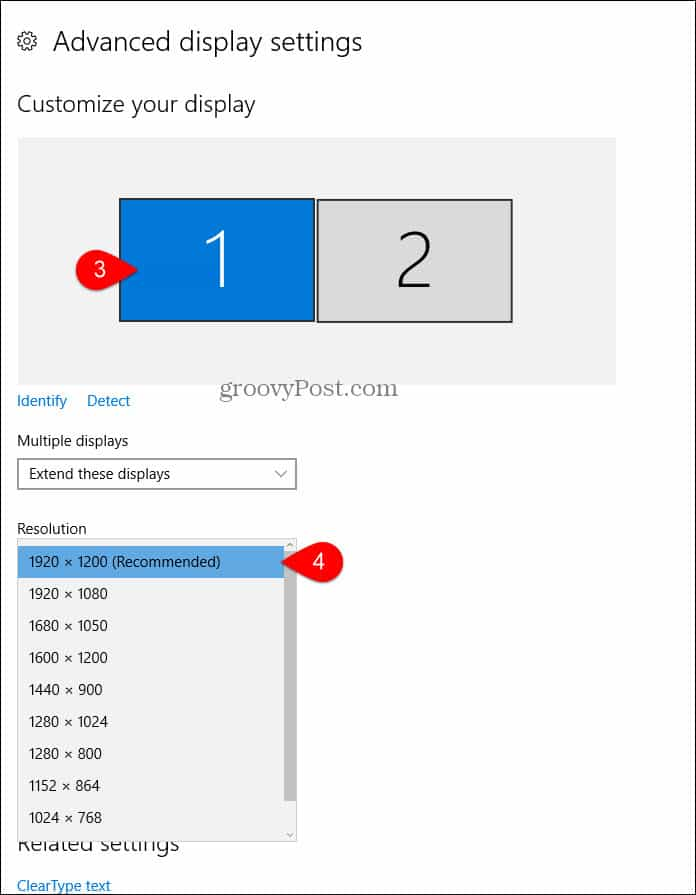 How to Change the Screen Resolution on Windows 10 - Tech Tips Buzz