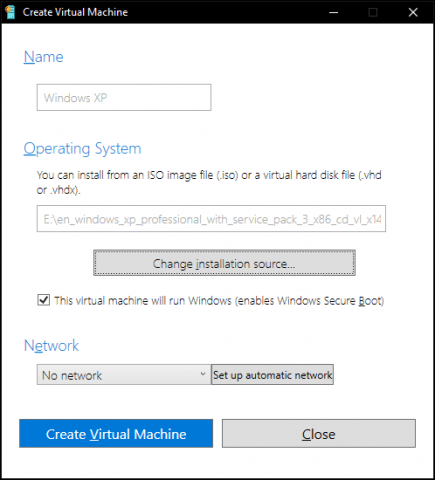 How to Use Hyper-V Quick Create in the Windows 10 Creator's