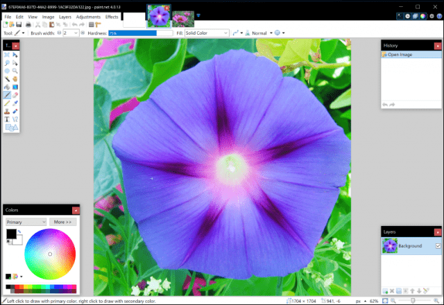 Paint.NET, Paint 3D, Windows 10, Windows 10 Creators Update