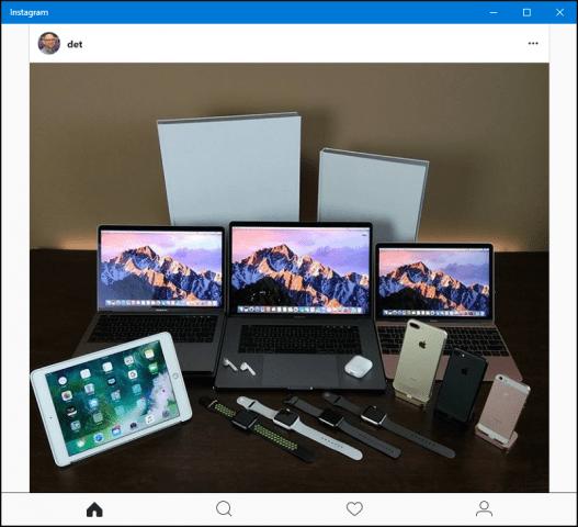 Instagram Windows 10 Universal App Review