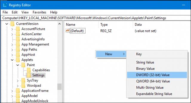 How to Restore Classic Paint App in Windows 10 Creators Update