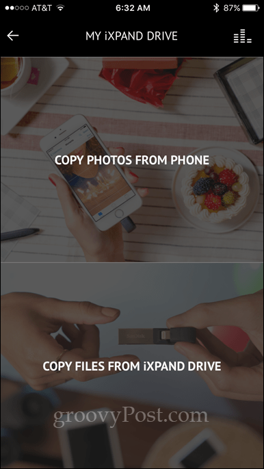 how to move pictures from iphone to flash drive