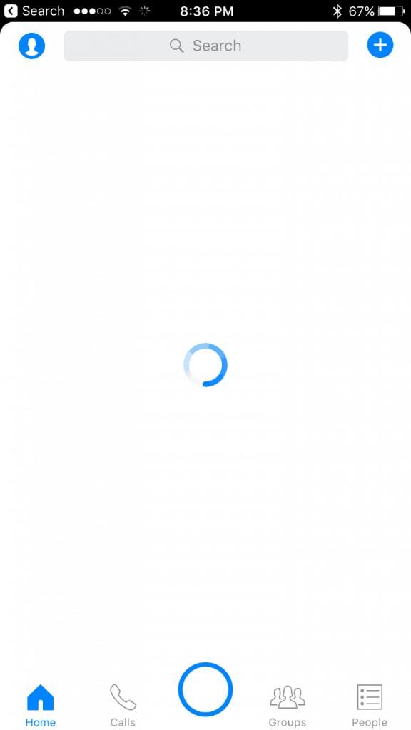 blocking on messenger