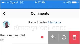 Cómo moderar los comentarios del Instagram