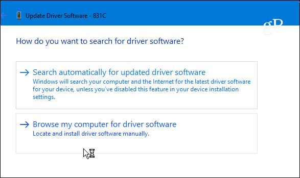 windows update driver list