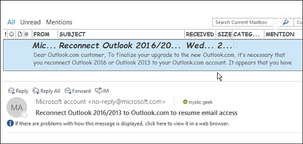 how to set font in outlook