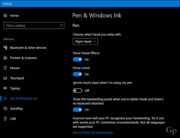 How to Use the Improved Inking Features in the Windows 10