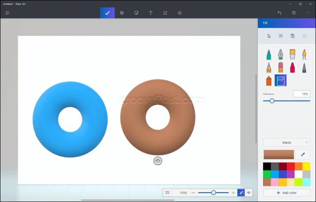 Reference Guide for Microsoft Paint 3D