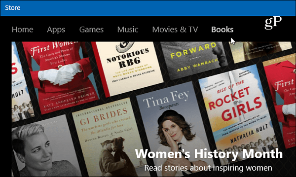 Books Windows 10 Store