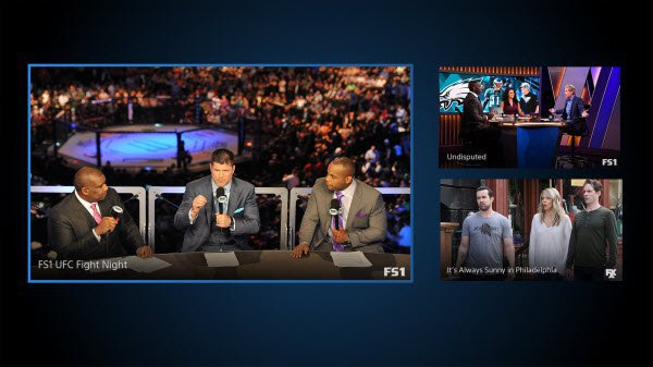 PlayStation Vue multi-view