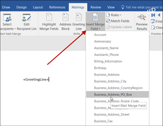 Send Personalized Mass Emails with Outlook 2013 or 2016