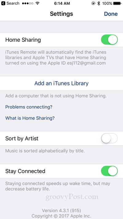 itunes streaming vs sonos streaming