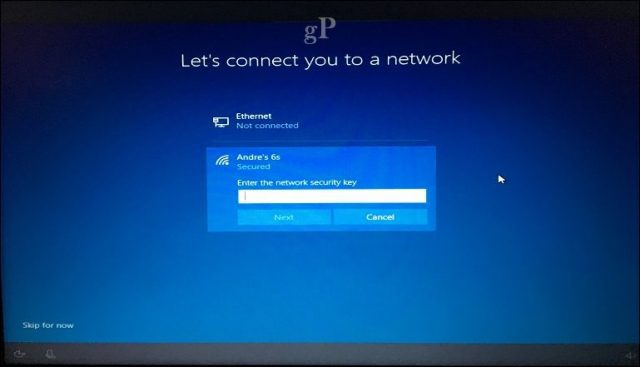 connect pc to wireless network windows 10