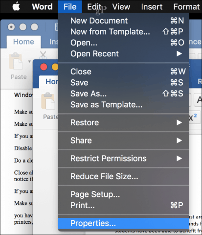 word 2016 document wont save