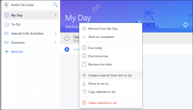 Microsoft's To-Do is an Intelligent Task Management App to Replace