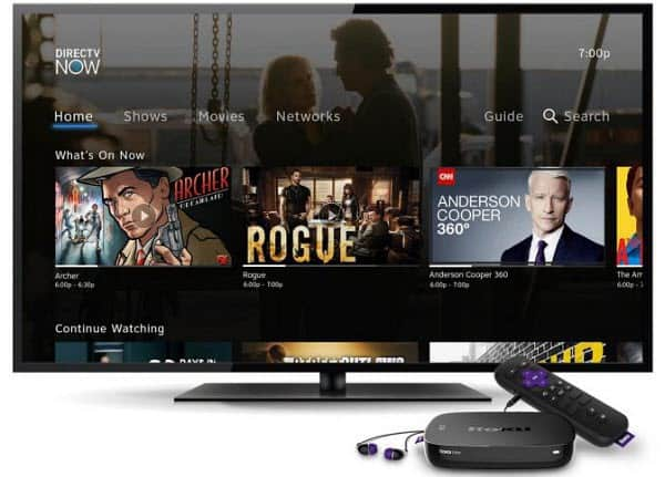 DirecTV NOW Roku