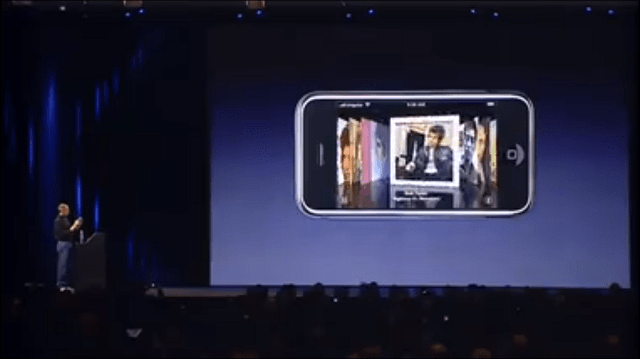 The IPhone Combined Recent IPod Additions Such As A Widescreen Video Player For Watching Videos And Movies