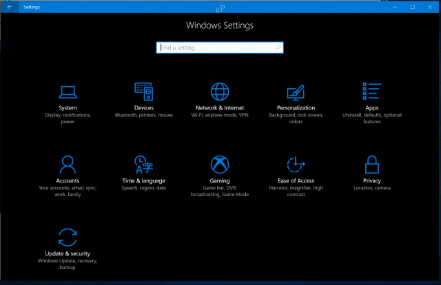What's New and Improved in the Windows 10 Settings App?