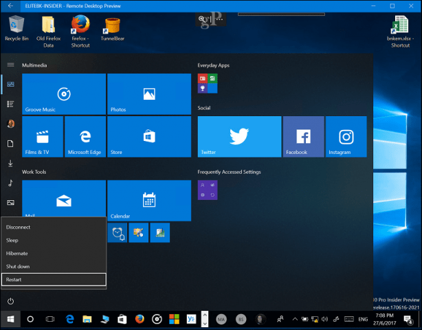 How to Remote Shutdown or Restart of Your Windows 10 PC