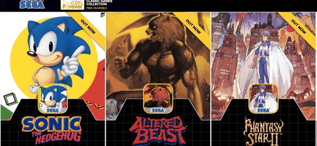 Friday Fun: Sega Releases Classic Games for Free on iOS and