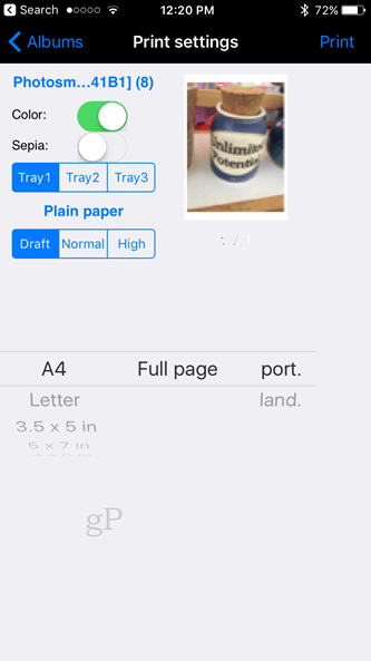 Print from your iPhone without an AirPrint Printer