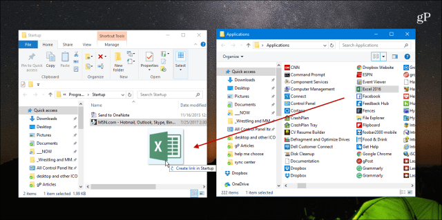Windows 10 Tip: Make Apps or Files Launch Automatically During Startup